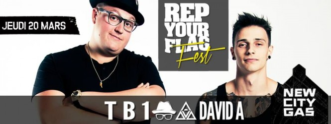 Rep Your Flag With TB1 and David A at New City Gas | Big Moves