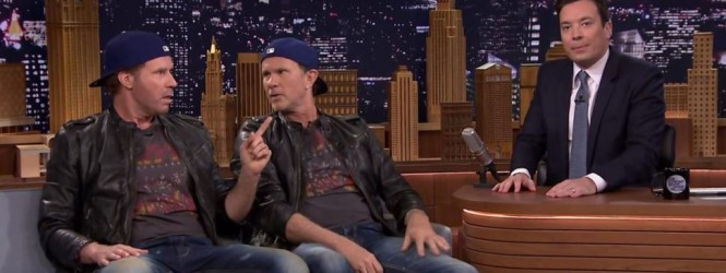 Will Ferrell vs Chad Smith on Jimmy Fallon | #TDT