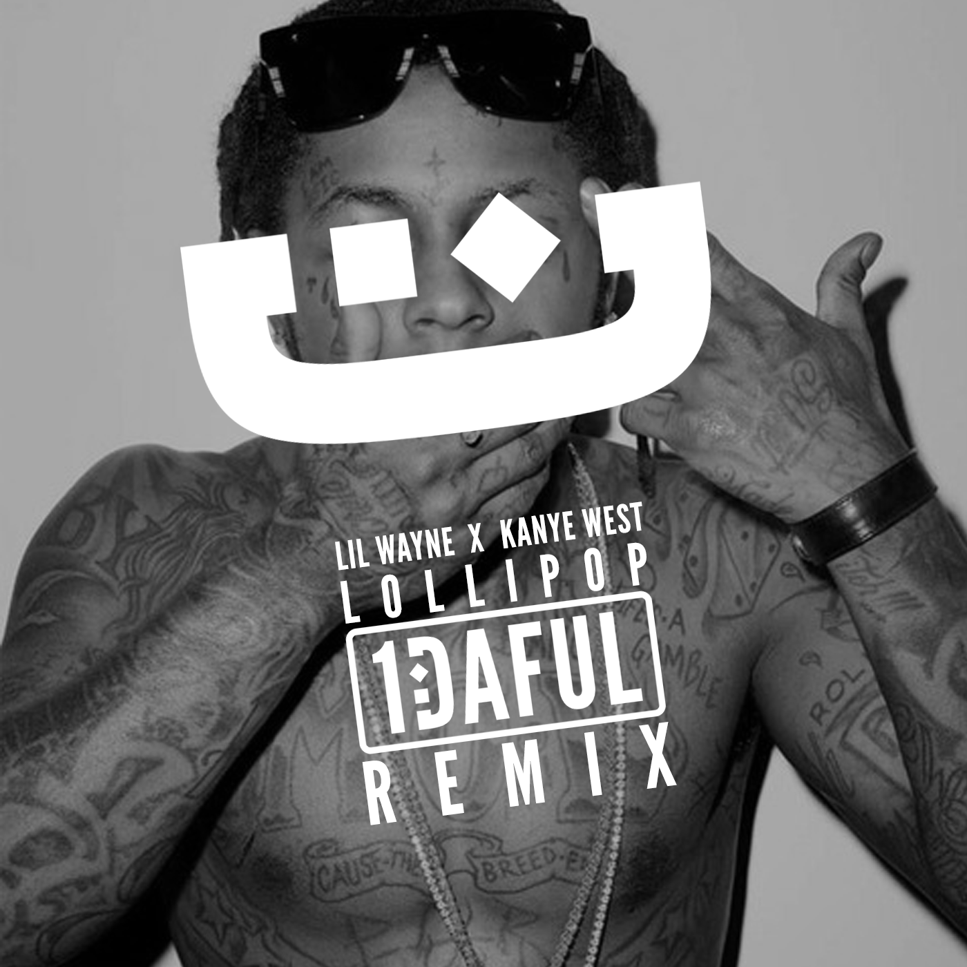 Lollipop (1DAFUL G-house Remix) - Lil Wayne Kanye West artwork