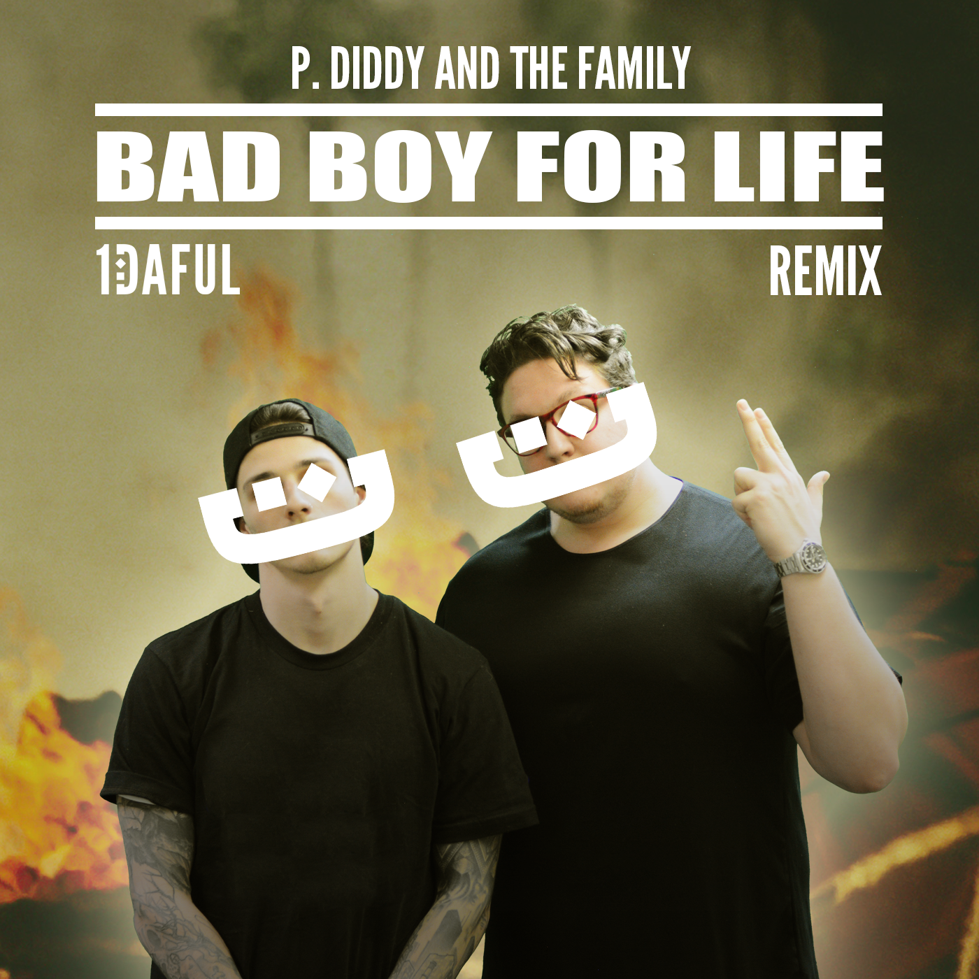 P. Diddy - Bad Boy For Life (1DAFUL Remix) - Artwork